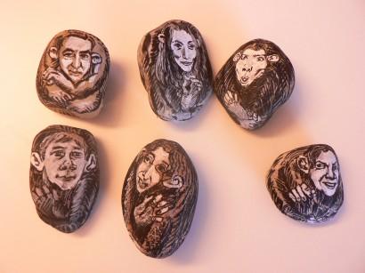 stone portraits